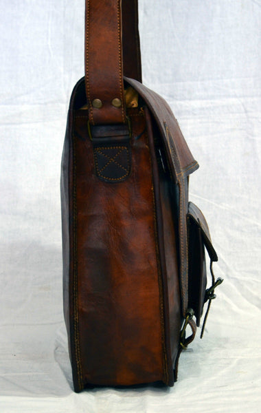 real  leather laptop bags
