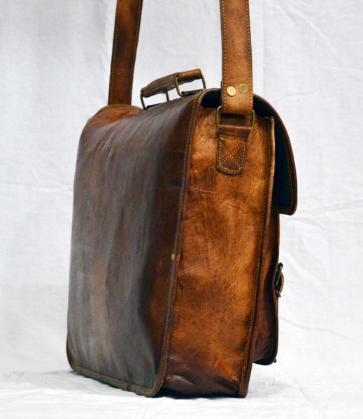 laptop bags leather