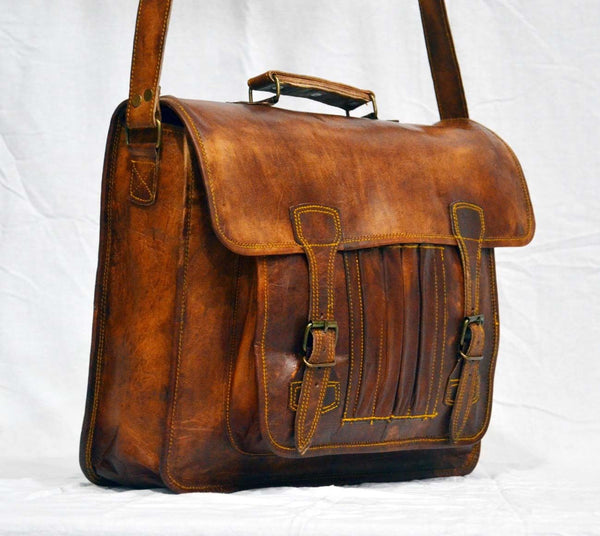 real leather laptop bags for men and women