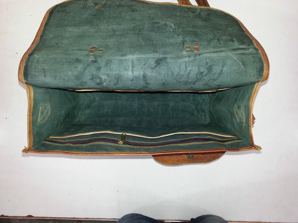 laptop bag vintage leather