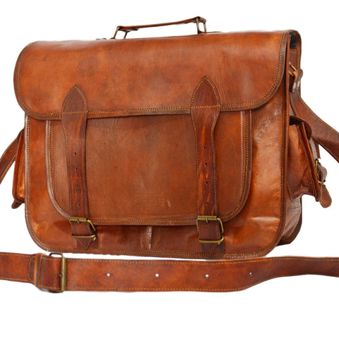 mens leather satchel  bags