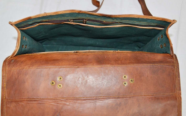 vintage leather laptop bags