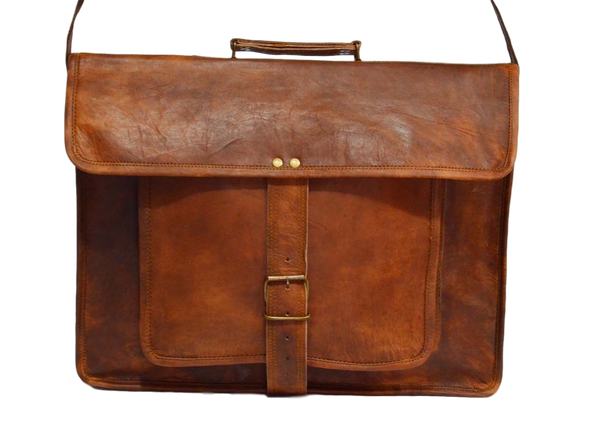 handmade leather shoulder bag tablet  bag