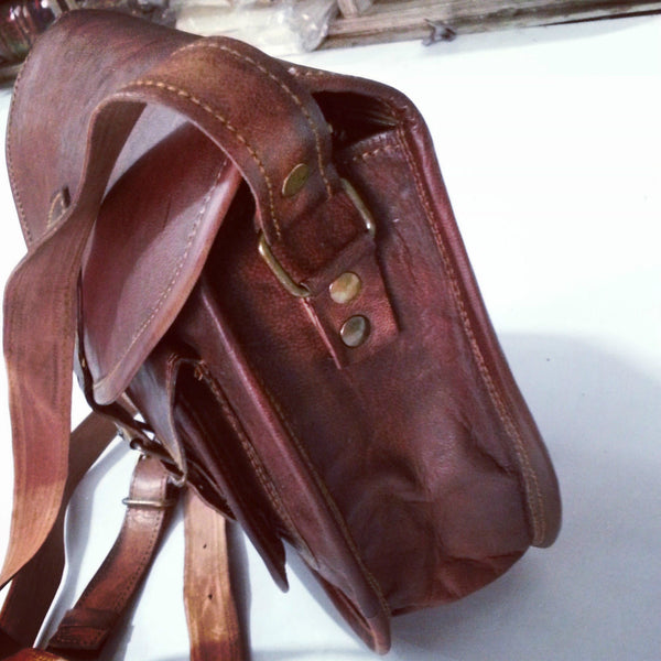 womens leather shoulder bags vintage leather