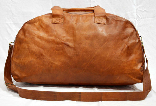 leather overnight hand luggage bags