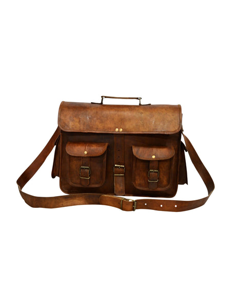 handmade leather satchel  for men and for women