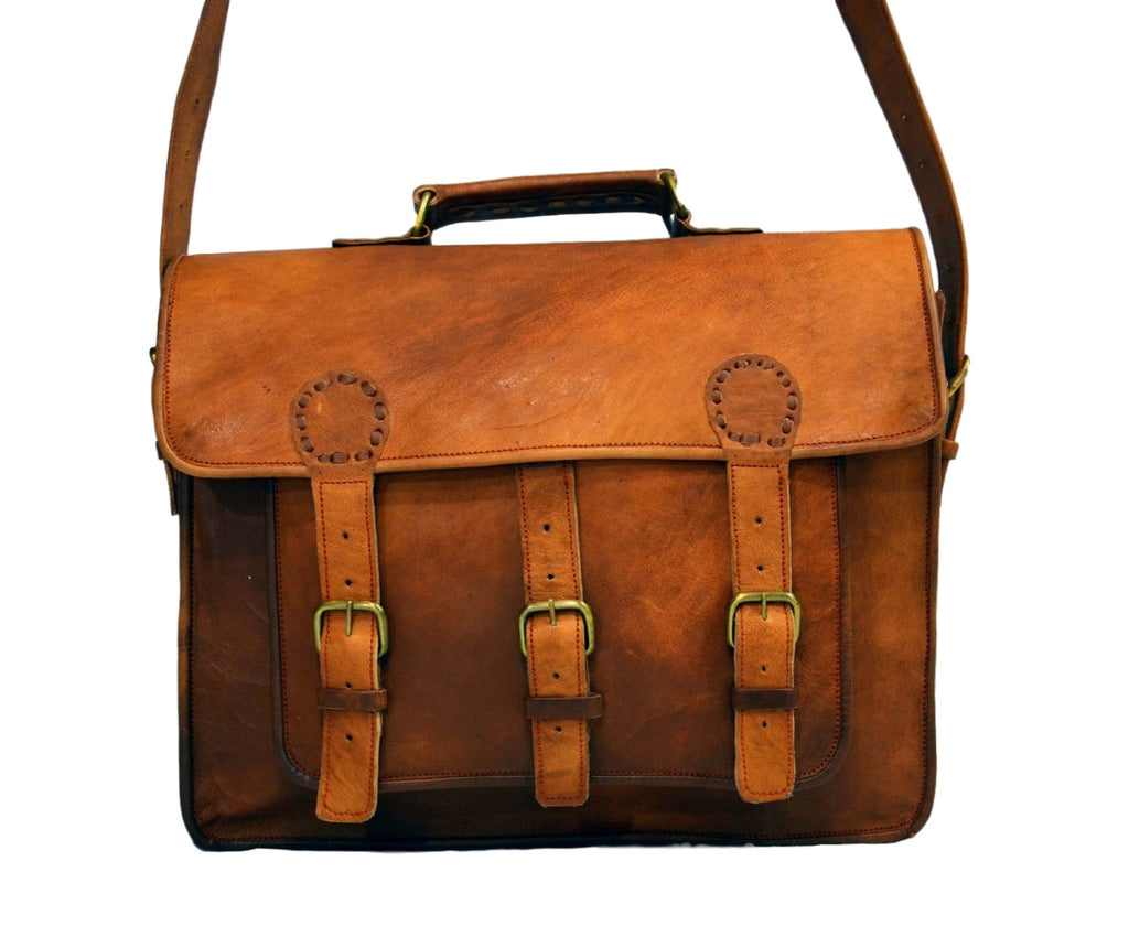 real leather laptop bag for women