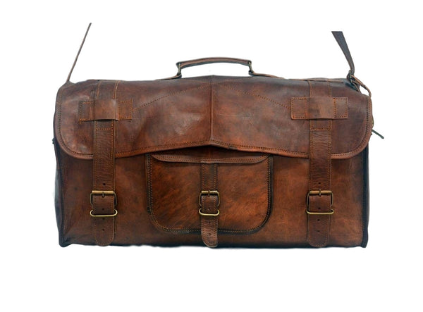 real leather travel bags