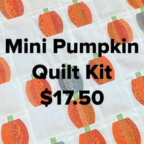 Mini Pumpkin Quilt Kit
