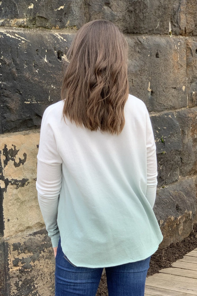Ombre Faded Sweatshirt