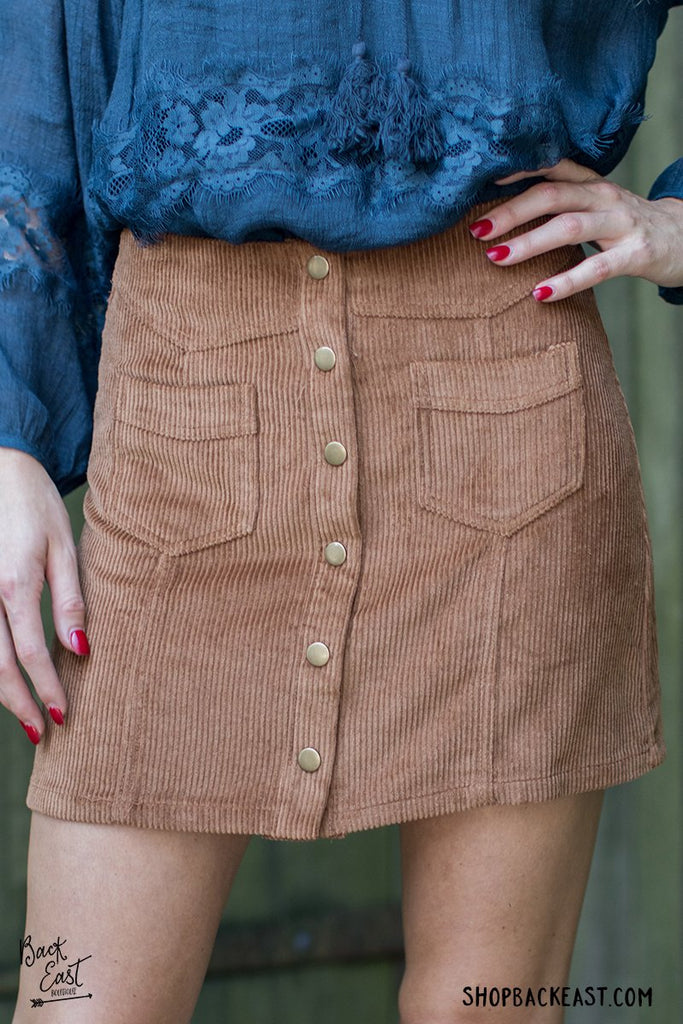 Strike A Cord Skirt