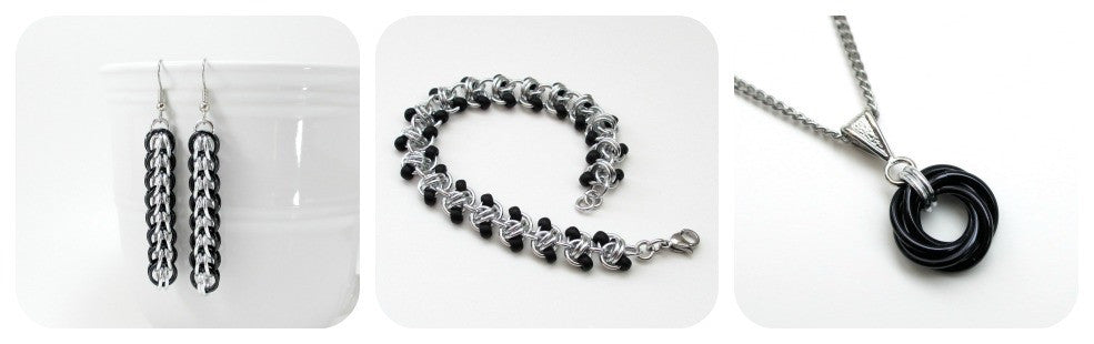 c61a22cd5351a Chainmaille jewelry and accessories handmade by Jennifer LaDouceur –  Tattooed and Chained Chainmaille