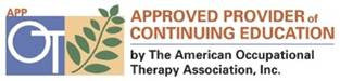 Logo for the American Occupational Therapy Association