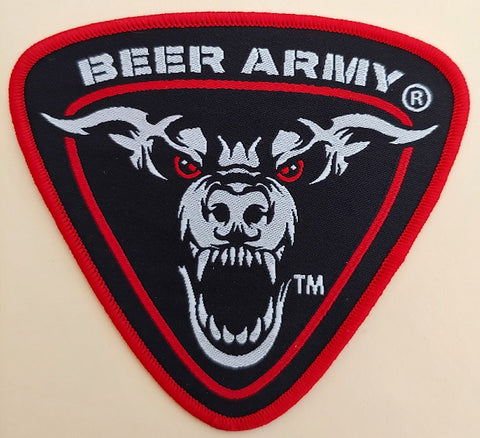 Beer Army Shield Logo Patch