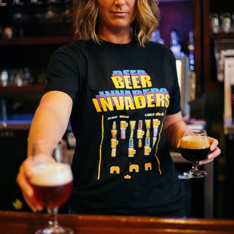 Beer Army Beer Invaders T-Shirt