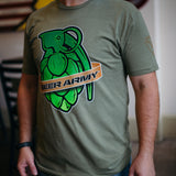 Beer Army Hop Grenade T-Shirt
