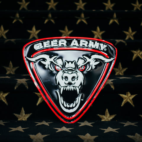 Beer Army Tin Tacker