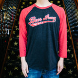 Beer Army Baseball 3/4 Sleeve Shirt