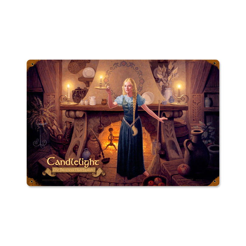 Lord of the Rings – Candlelight Metal Sign