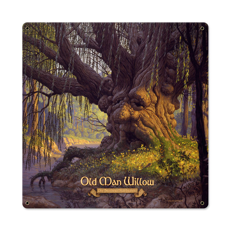 Lord of the Rings – Old Man Willow Metal Sign