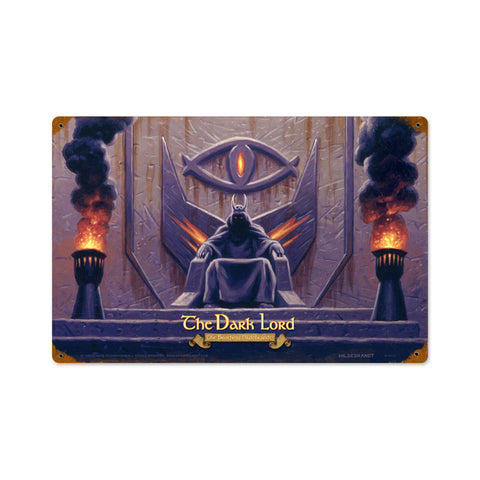 Lord of the Rings – The Dark Lord Metal Sign