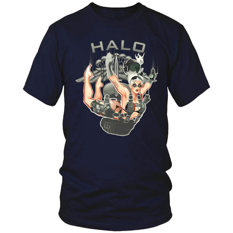 HALO Pin Up Girl Shirt