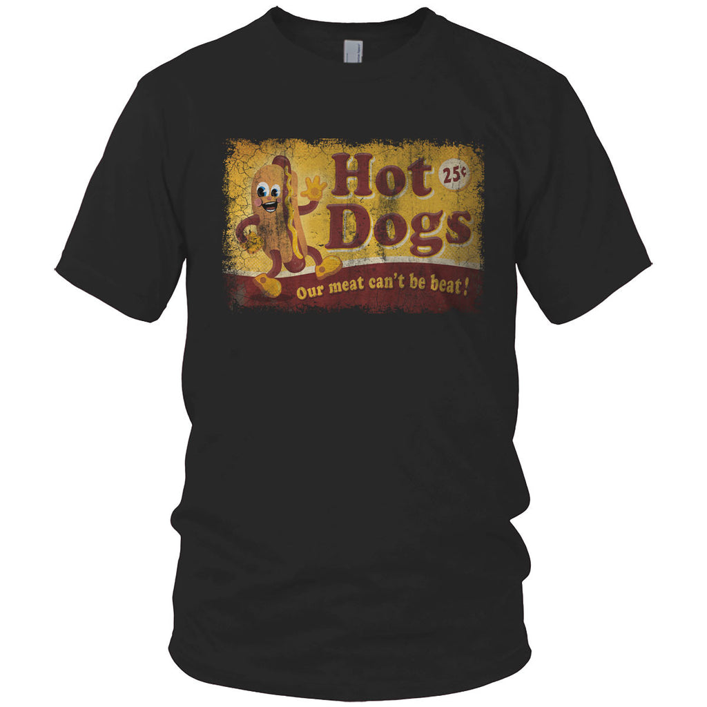 Hot Dog Man Vintage T Shirt