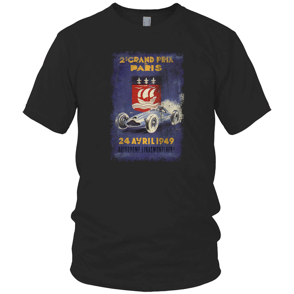 Paris Grand Prix Vintage T Shirt