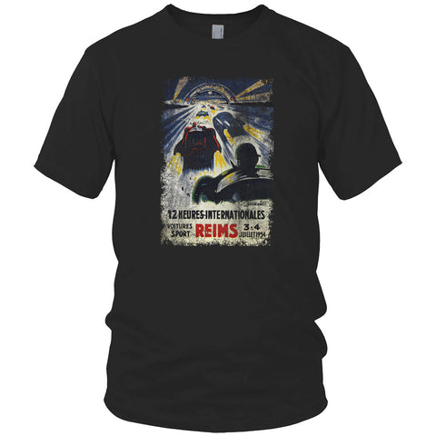 Reims Racetrack Vintage T Shirt