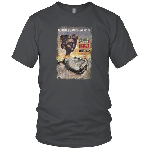Panamericana Mexico Car Race Vintage T Shirt