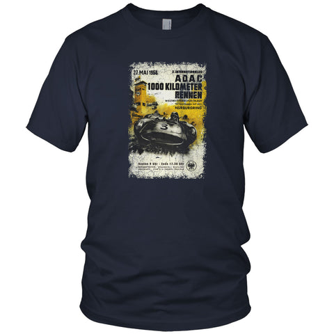 Adac Car Race Vintage T Shirt