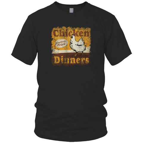 Southern Fried Chicken Dinners Vintage T Shirt