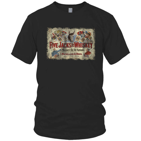 Five Jacks Whiskey Vintage T Shirt
