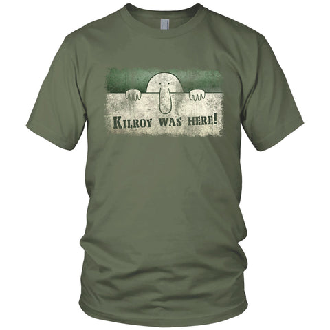 Kilroy Was Here Vintage T Shirt