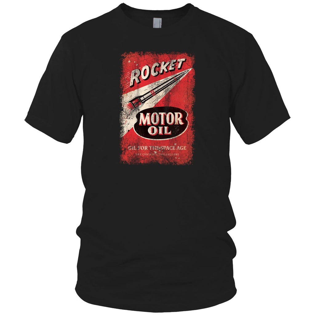 Rocket Motor Oil Vintage T Shirt