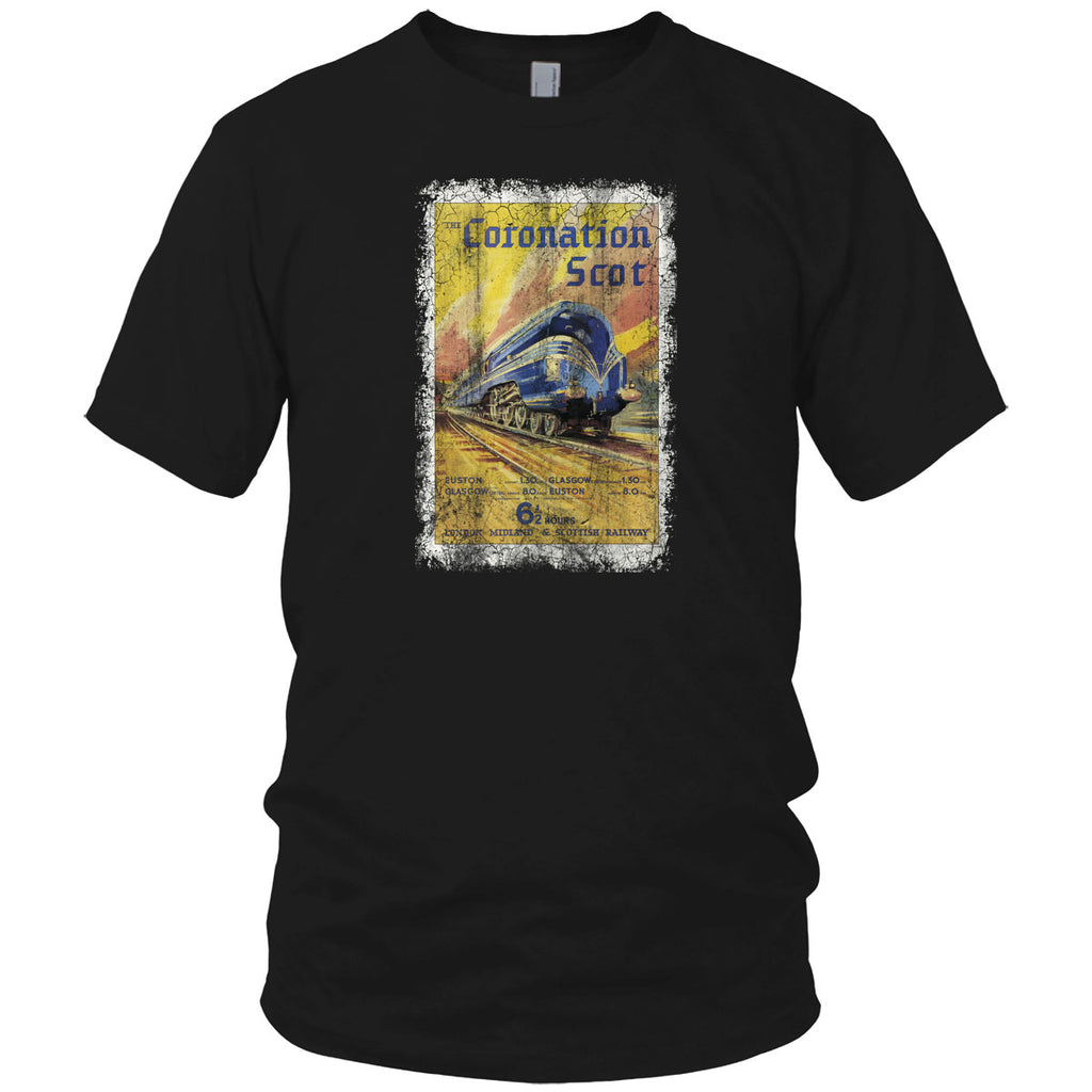 Scottish Railway Vintage T Shirt