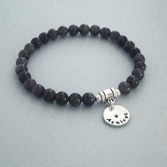 Labradorite Intention Bracelet - ACHIEVE