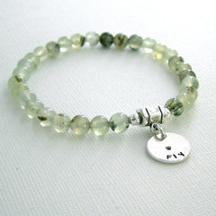 Prehnite Intention Bracelet - FLY