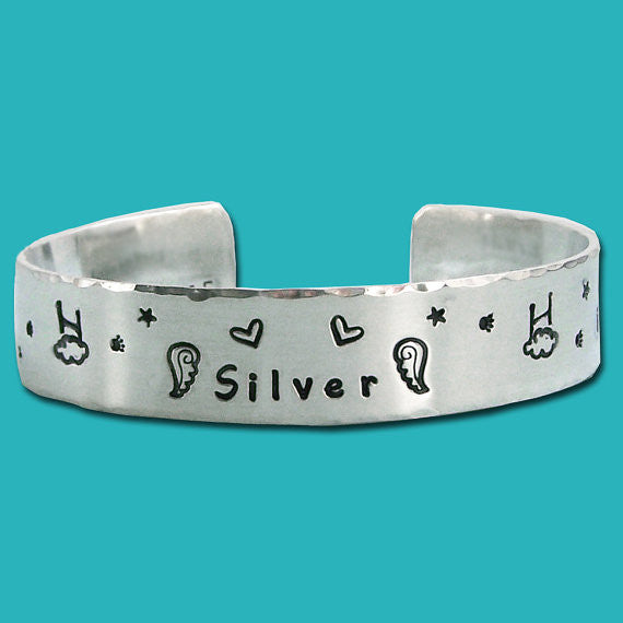 Agility in Heaven - Personalized Rainbow Bridge Agility Remembrance Bracelet