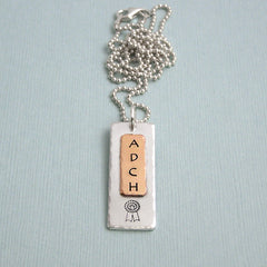 Dog Agility Title Necklace