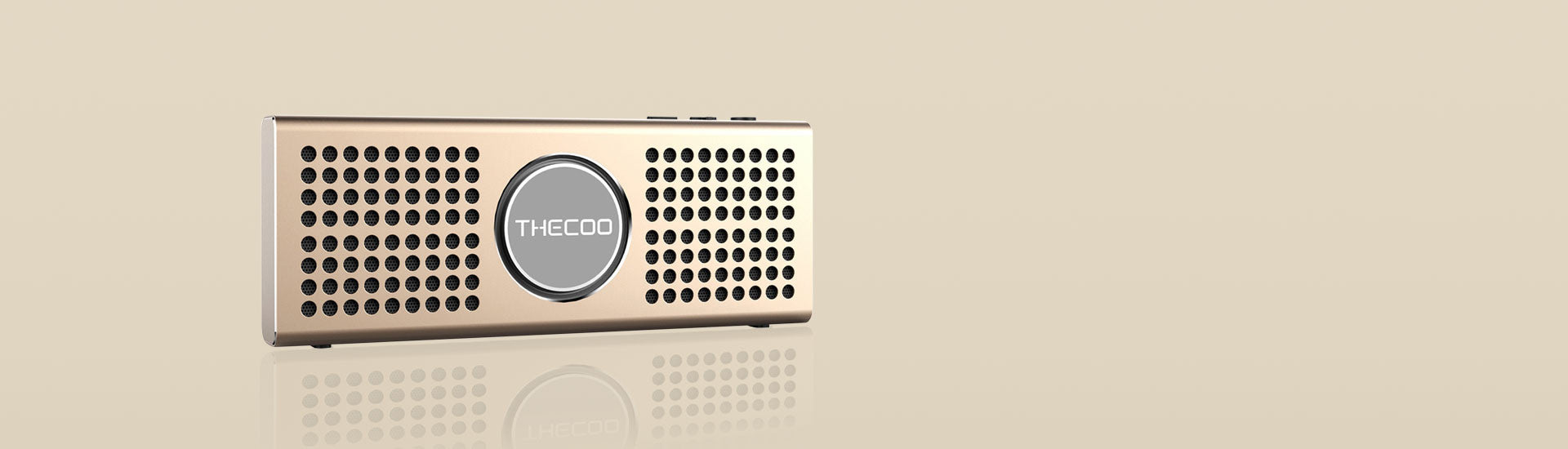Thecoo Flat Bluetooth reproduktor