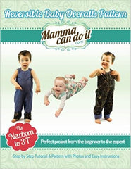Reversible Baby Overalls Pattern Booklet