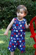reversible romper pattern