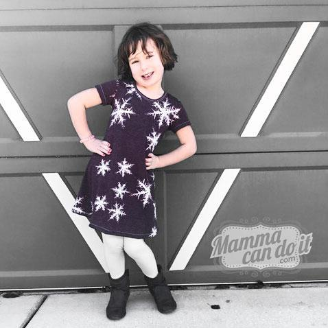 MammaCanDoIt Sewing Pattern The Adalynn Dress |  Girl 2t-16