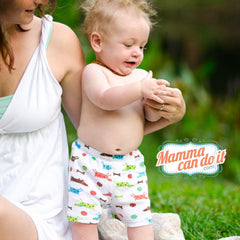Kelsey Patterns Sewing Pattern Breezy Shorts Pattern | Baby Sizes NB-24 Months
