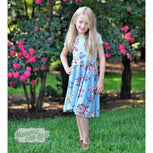 Relaxed Peplum | Girl Sizes 2T-16