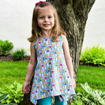 Priscilla Handkerchief Top | Girl Sizes 3T-20