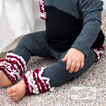 Rosie Ruffled Leggings Pattern | Size NB-36 Months