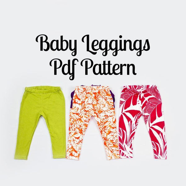 Baby Leggings Pattern - MammaCanDoIt - Sewing Pattern - 1