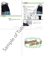 Ring Sling Pattern - MammaCanDoIt - Sewing Pattern - 4